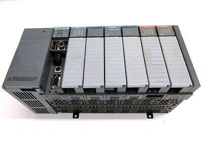 Allen Bradley Slc500 1746-a7 7-slot Rack W Power Supply Slc 504 Cpu Output