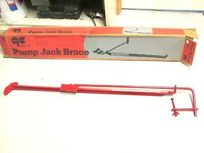 Nib .. Qual-craft Pump Jack Brace Model 2201 Red .. Whs-203