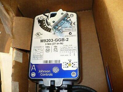 Johnson Controls M9203-ggb-2 Spring Return Proportional Actuator 24 Vacvdc