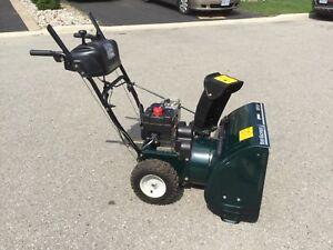 """Yard Machine 5HP X 24"""" auger self propelled snowblower"""