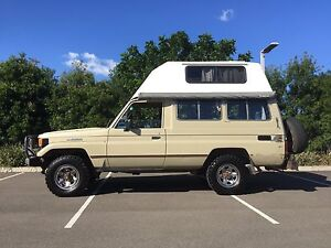 Toyota LandCruiser Troop Carrier Troopy hard top bush camper 4wd 4x4 Sydenham Marrickville Area Preview