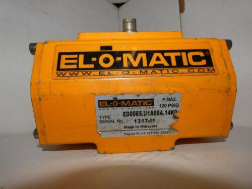 El-O-Matic Pneumatic Actuator Type ED0065.U1A00A.14KO