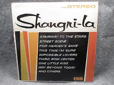 33 Rpm Lp Record Shangri La Wyncote Cameo Parkway Records Inc  1964 Sw 9017