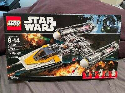 LEGO Star Wars 75172 Y-Wing Starfighter Set - NEW AND SEALED!