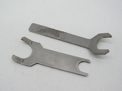 2-pack Chromatography Column Wrench Tool Stainless Steel