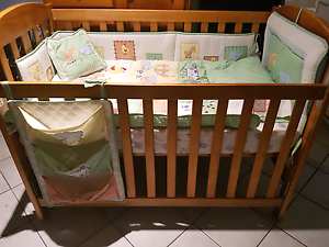 Crib / Cot with Mattress + Bedding Toukley Wyong Area Preview