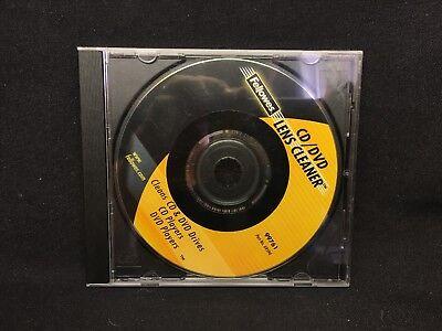 (BP) Fellowes CD/DVD Drive Lens Cleaner, sweep away dust dirt from laser lens