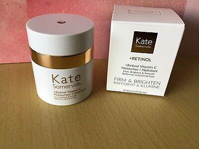 BNIB Kate Somerville +Retinol Vitamin C Moisturiser 50ml Full Size New Boxed