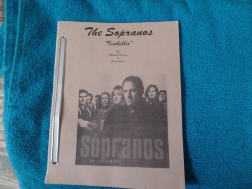 Sopranos 1st revision Isabella  script  Great condition