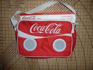 COCA-COLA INSULATED SPEAKER BAG - NWT