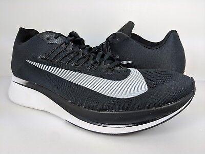 Nike Men's Zoom Fly Running Shoe Black Anthracite White (880848-001) sz 9.5