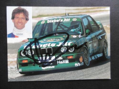 Christian Danner Autogramm signed 10x13 cm Postkarte BMW