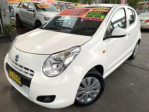 SUZUKI ALTO 08/2012 MY13 5 SPEED VERY LOW 74,283 KLMS LONG REGO MAY 2021* FREE 5 YEAR WARRANTY INCL Bass Hill Bankstown Area Preview