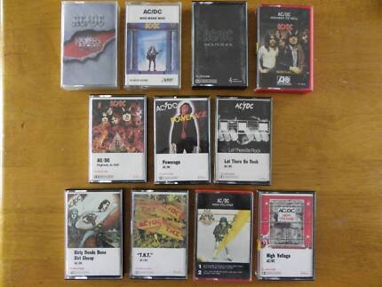 AC/DC AUDIO CASSETTE TAPES Alberton Port Adelaide Area Preview