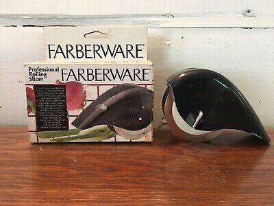 Farberware Professional Rolling Hand Held Slicer 5 Stainless Steel Slice Blades Handheld-slicer