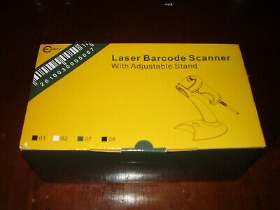 E Sky Laser Barcode Scanner With Adjustable Stand Nib-x000dvcnrz