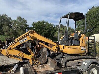 John Deere 27zts Mini Excavator With Thumb
