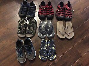 Boys sandals/flip flops, Columbia, keen, sketchers