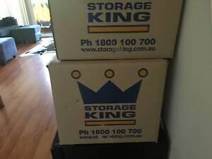 Free 25 packing/storage  boxes (Storage King  standard size) Bondi Eastern Suburbs Preview