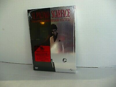 Scarface DVD 2003 2 Disc Anniversary Edition BRAND NEW & SEALED Al Pacino