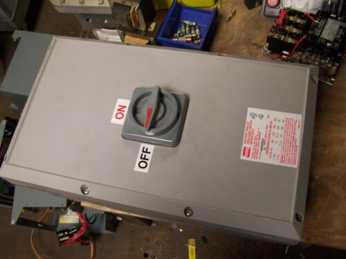 NEW CROUSE HINDS N2RS603 WATERTIGHT 60 AMP SEALED ENCLOSED DISCONNECT SWITCH
