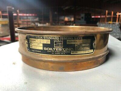 Soiltest 8 Diameter Usa Standard Testing Sieve Mesh No 30 Aperture 600 M