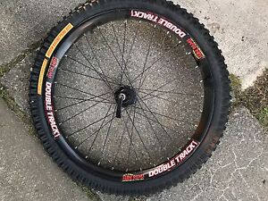 Double Track Rim w/ Tire - Basically New.