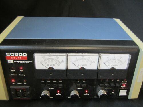 EC600 E-C Apparatus Corp DC power supply