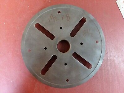 Face Plate 1 12 8 Perfict Atlas Wood Lathe 8 12 South Bend Logan Sheldon