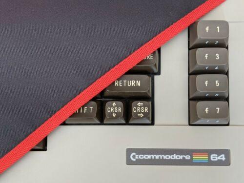  COMMODORE C64C- dust cover- graphite grey cotton …