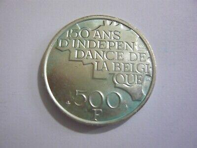 belgique pièce - belgie munt 1980 - 500 fr