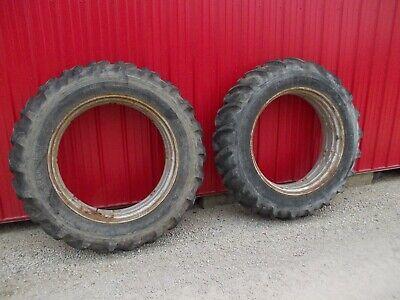 15.5 X 38 Tractor Tread 97 Tires Farmall Ih 400 450 460 560 656 350 Rear Rims