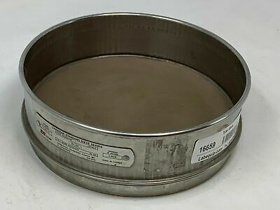 Ce Tyler Canadian Standard Sieve Series Stainless Steel No. 200 75um .0029