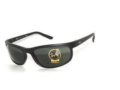 97827694d5c1 RAY BAN Sunglasses 2027 W1847 62 Matte Black Green Rayban