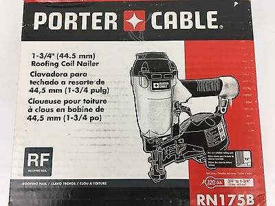 "Porter-Cable 7/8"" To 1-3/4"" Roofing Coil Nailer RN175B"