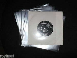 100-x-7-PVC-vinyl-record-sleeves-covers-180-micron-single-weld-glass-clear