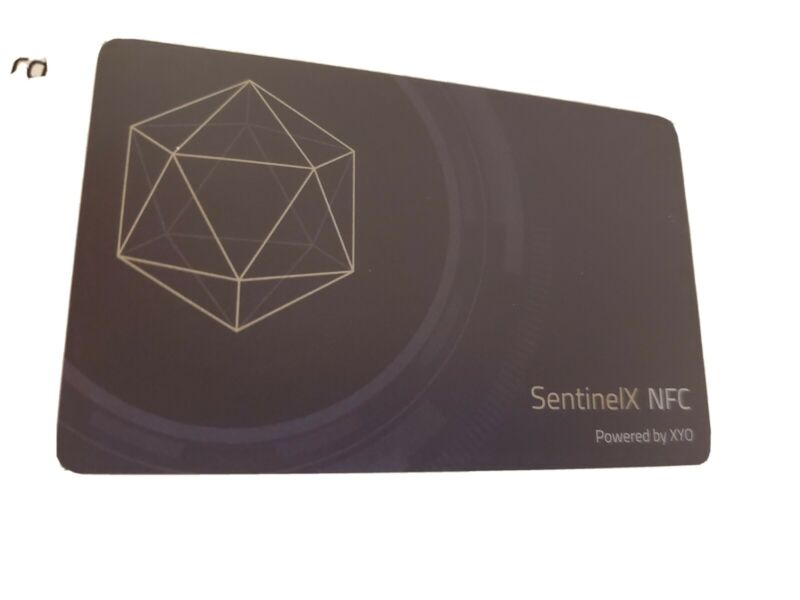 XYO COIN App SentinelX NFC 12X Mine Speed Crypto Currency