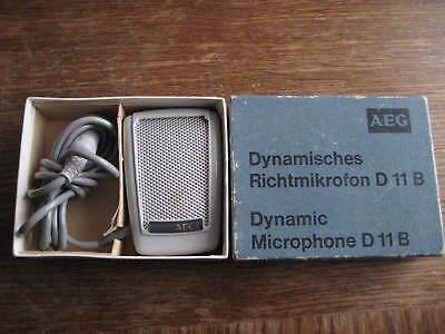 AEG DYNAMISCHES RICHTMIKROFON MIKROFON D 11 B