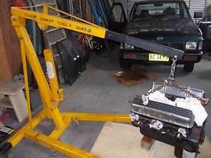 ENGINE CRANE / HOIST RENTALS & A FRAME LIFTING GANTRYS from $30.0 Sydenham Marrickville Area Preview