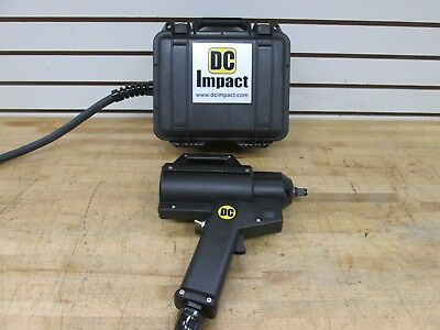 "DC IMPACT PORTABLE ELECTRIC 1/2"" DRIVE IMPACT WRENCH WITH NEW BATTERY"