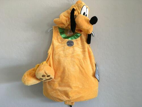 Disney Store Pluto Halloween Set Baby Costume 18-24 months Plush Infant 4 Piece