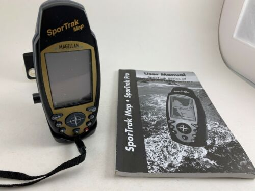 SPORTRAK MAP GPS MAPPING RECEIVER FOR CEOCACHING DISPLAY LOCATION ON CITY MAP