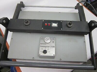 Seal Commercial 210m Dry Mounting Laminating Press - Powers On Heats