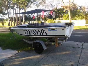 14FT BOAT AND TRAILER $1100 Ferntree Gully Knox Area Preview
