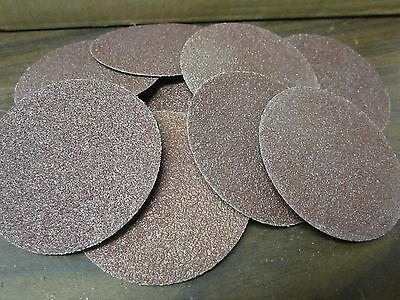 10pc 3 60 Grit Roloc Cookie Discs Aluminum Oxide Sanding Disc Roll Lock Type R