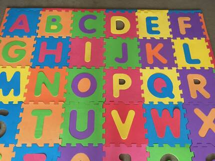 Kids FOAM Play MAT toy Abc letters numbers baby toddler eva tiles