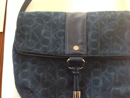 Calvin Klein handbag- denim colour Ascot Vale Moonee Valley Preview