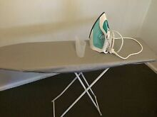 SUNBEAM VERVE 62 PLATINUM IRON AND IRONING BOARD Elwood Port Phillip Preview