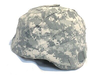 COMBAT HELMET CAMOUFLAGE PATTERN COVER ACH US ARMY ACU UCP DIGITAL CAMO L/XL NEW