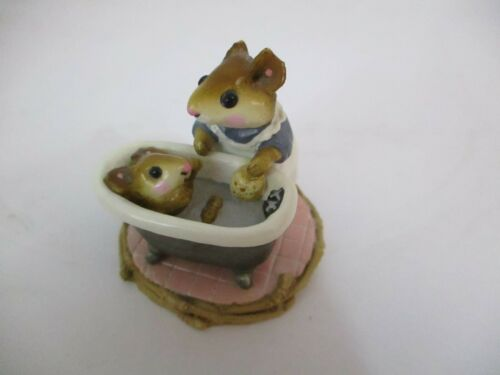 WEE FOREST FOLK -SQUEAKY CLEAN BATH TIME - 1981  WP